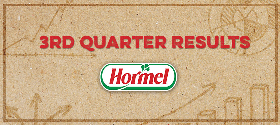 Hormel Foods Breaks Records for Third Quarter 2016; Raises Full Year Guidance