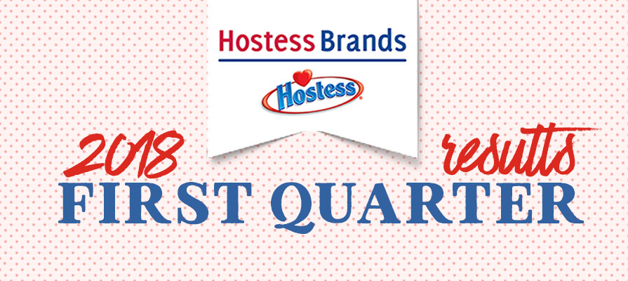 Hostess Brands Announces First Quarter 2018 Financial Results