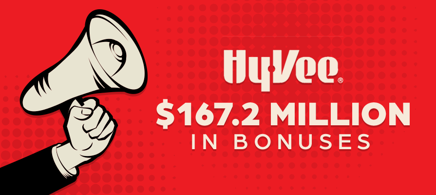 Hy-Vee Provides Employees With More Than $167.2 Million in Bonuses and Other Benefits in 2020