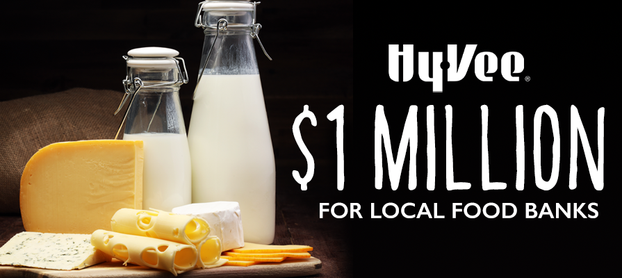 Hy-Vee Surpasses $1 Million Goal for Food Bank Donations