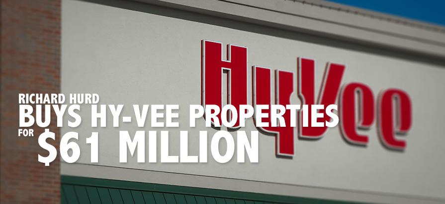 Iowa Mogul Richard Hurd Buys Several Hy-Vee Properties for $61 Million