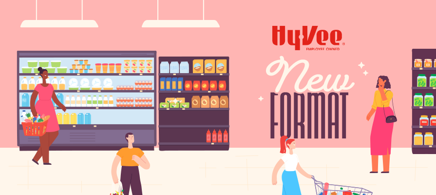 Hy-Vee Debuts First Entirely Reimagined Grocery Store in Grimes, Iowa; Randy Edeker Comments