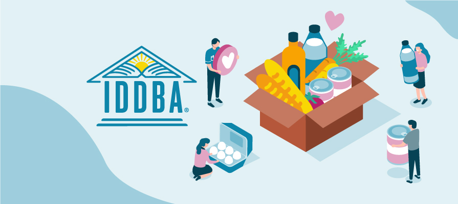 IDDBA Facilitates Food Bank Donations