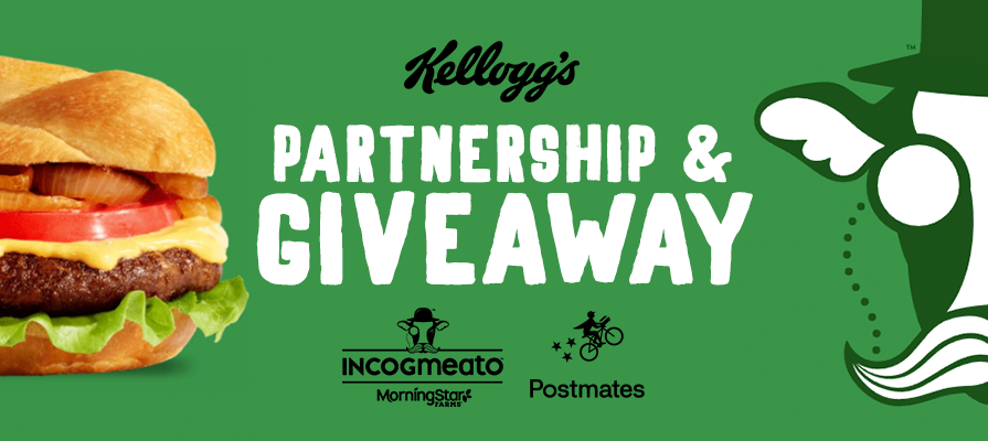 Incogmeato™ by MorningStar Farms® Launches National Giveaway and Partners with Postmates
