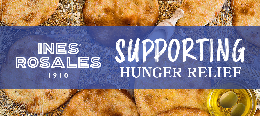Ines Rosales Donates Products to NYC Hunger Relief Organization City Harvest
