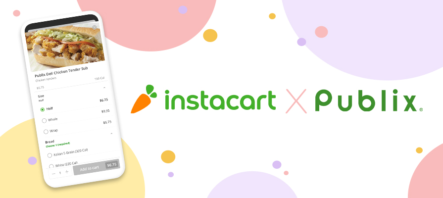 Instacart Meals  Product Launches, Publix Partners with Instacart