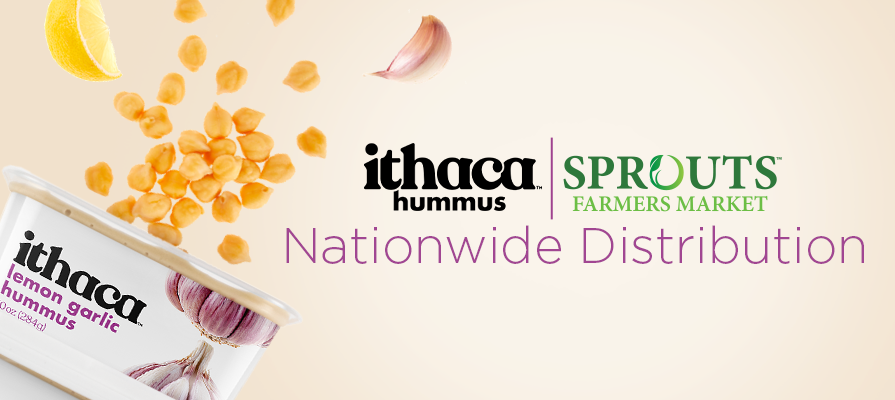 Ithaca Hummus Expands Distribution to All U.S. Sprouts Stores