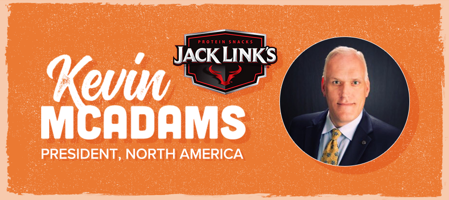 Jack Link's Protein Snacks Names Kevin McAdams, President of North America