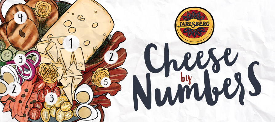 Jarlsberg® Cheese Kicks Off Its Year-Long  Cheese by Numbers  Social Giveaway Series