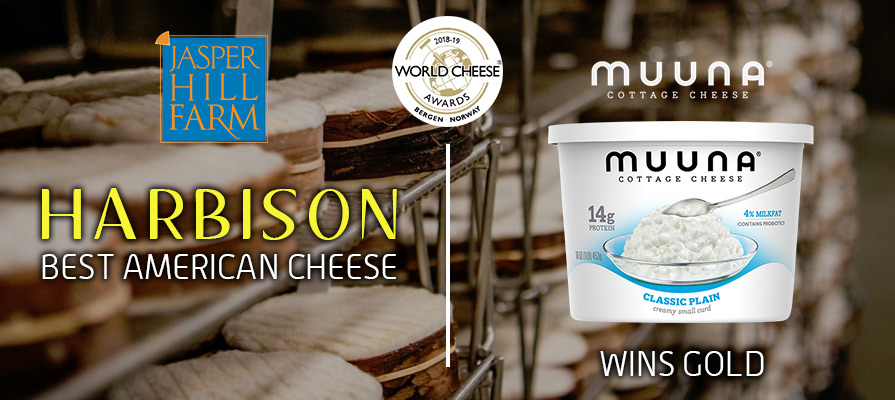 Jasper Hill Farm's Harbison Wins Best American Cheese at World Cheese Awards