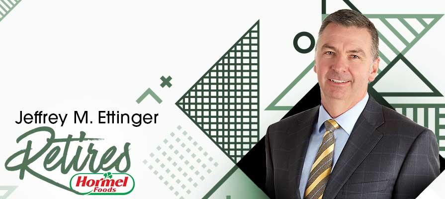 Hormel Foods Announces Retirement of Jeffrey M. Ettinger; Jim Snee Elected as Chairman