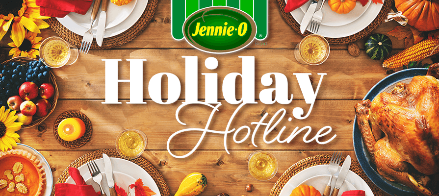 Jennie-O Launches Advice Hotline to Avoid Thanksgiving Disasters