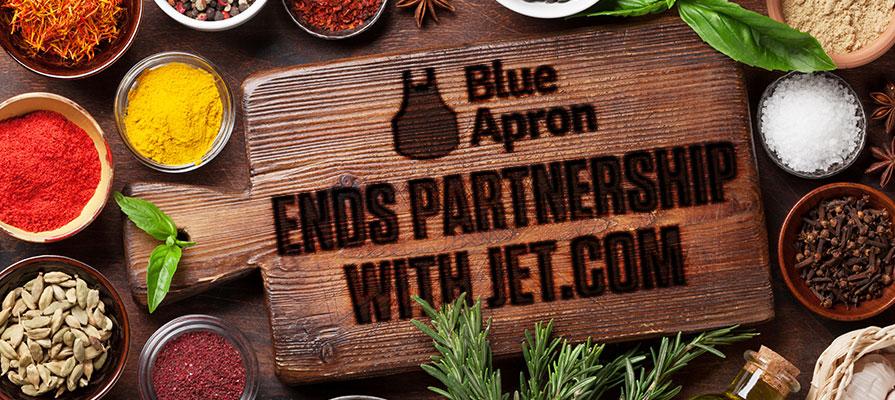 Blue Apron Breaks Ties with Walmart's Jet.com