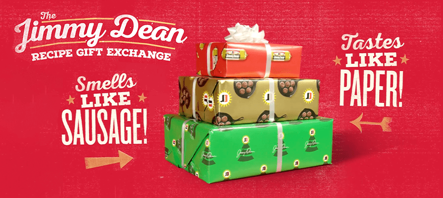 Jimmy Dean Introduces Sausage Wrapping Paper
