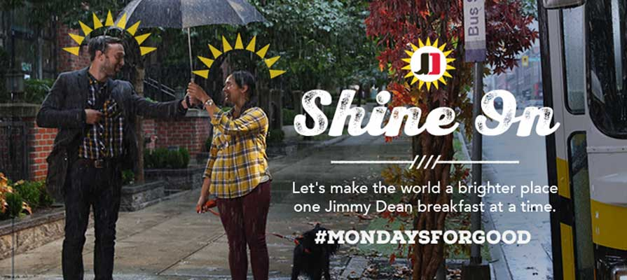 Jimmy Dean® Kicks Off New Marketing Initiative through Shine it Forward