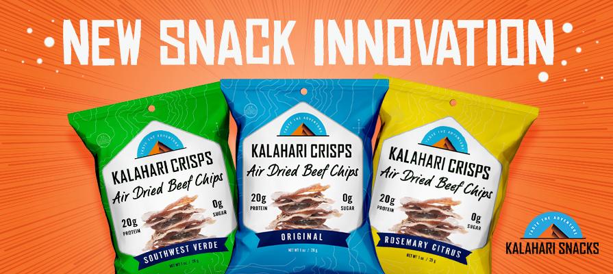 Kalahari Snacks Introduces New Kalahari Crisps Meat Snacks