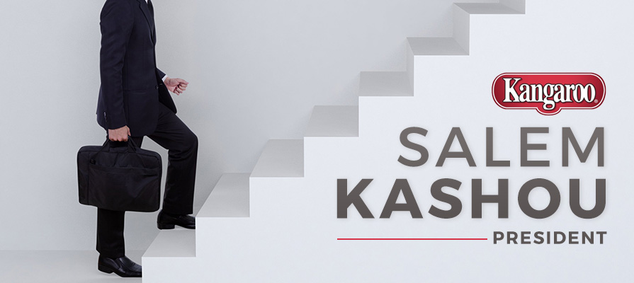 Kangaroo Brands Names Salem Kashou President
