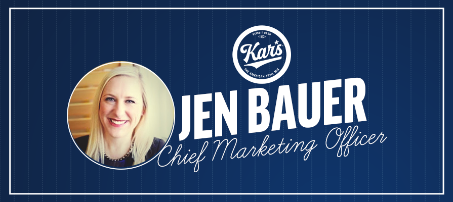 Kar's Nuts Names Jen Bauer as Chief Marketing Officer