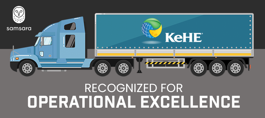 KeHE Distributors Recognized for Operational Excellence by Samsara