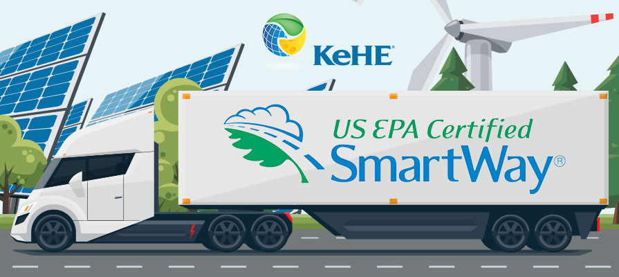 KeHE Joins the U.S. EPA SmartWay® Transport Partnership