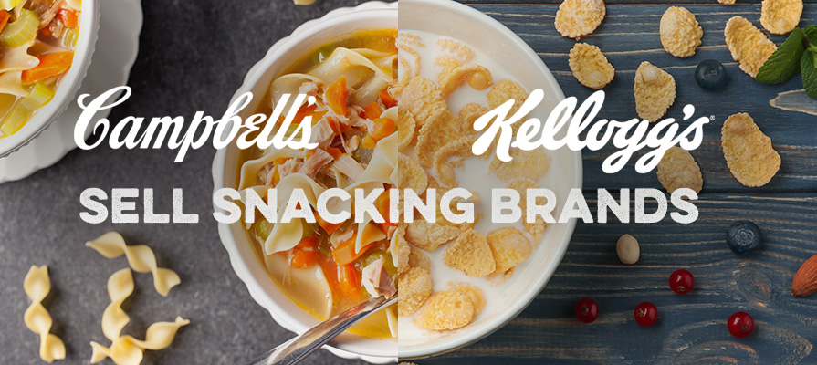 Kellogg and Campbell Soup Company to Sell Snacking Brands