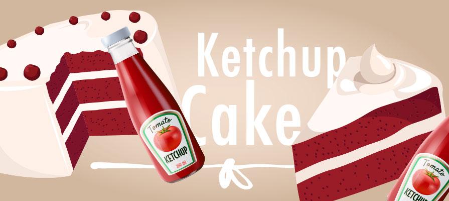 Ketchup Cake Goes Viral