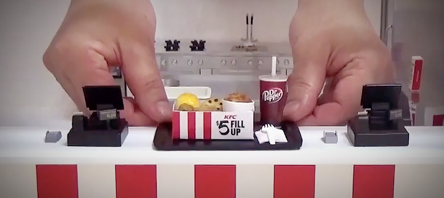 Portland Opens a Miniature KFC