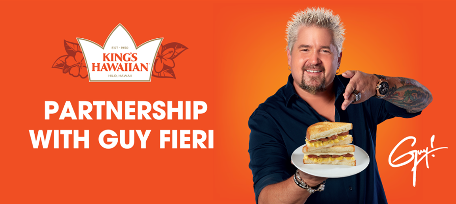 King's Hawaiian and Guy Fieri Team Up to Build Better Sandwiches in 2021