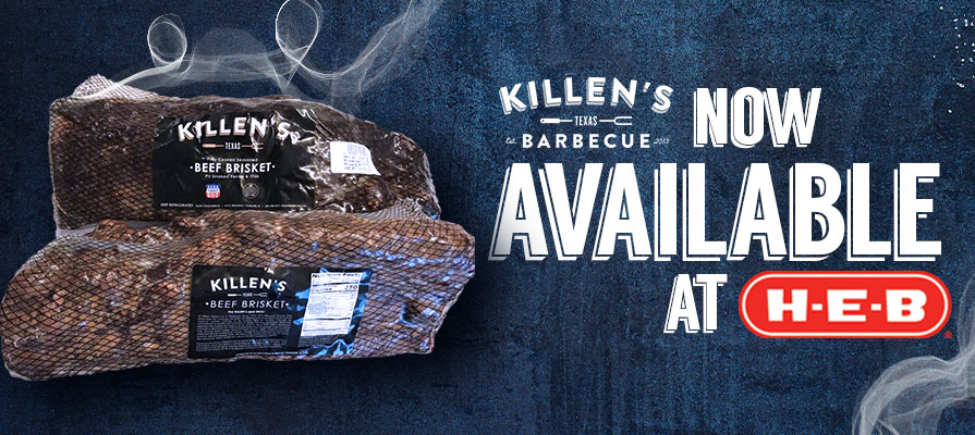 Killen's Brisket to Be Sold at 50 H-E-B Stores