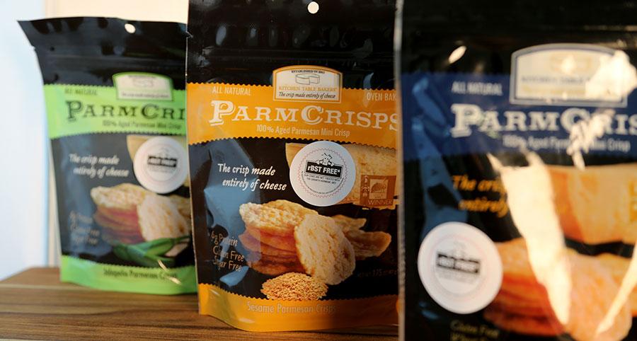 Kitchen Table Bakers Spotlights Three Flavors For Its Parm Crisp Line Deli Market News