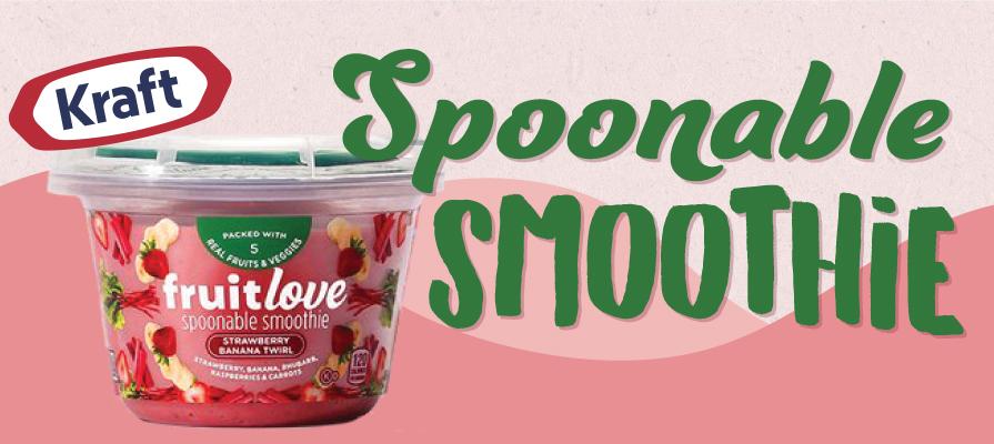 Kraft Heinz Launches Spoonable Smoothies