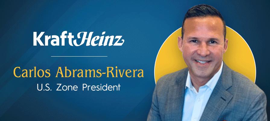 Kraft Heinz Welcomes Carlos Abrams-Rivera as New U.S. Zone President