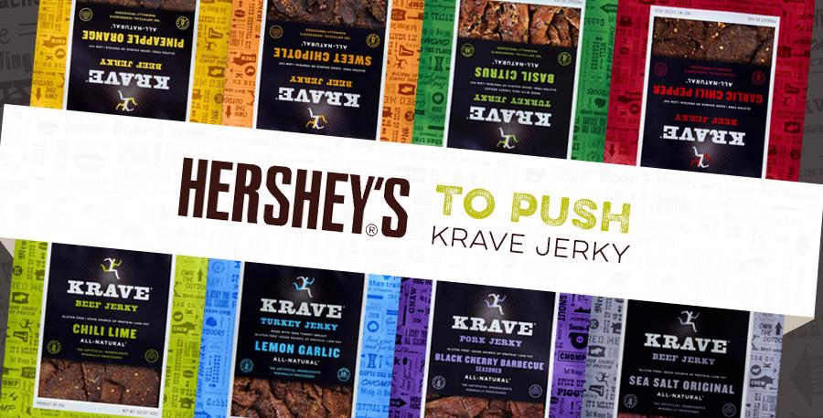 Hershey's Co. to Push Krave Jerky