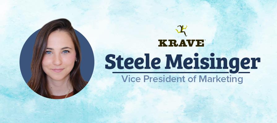 KRAVE Names Steele Meisinger as Vice President of Marketing