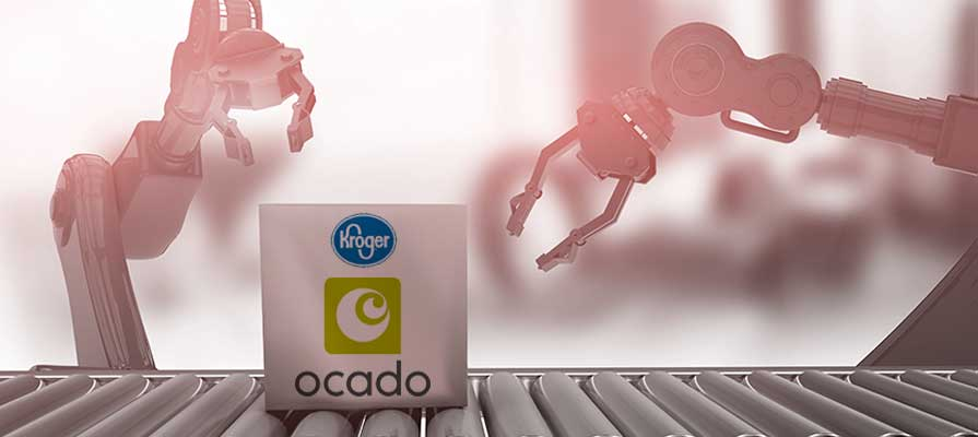 Ocado CFO Duncan Tatton-Brown Discusses Kroger Partnership, 20 Prospective Warehouse Locations