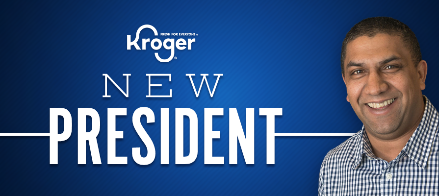 Kroger Names Milen Mahadevan as President of 84.51°