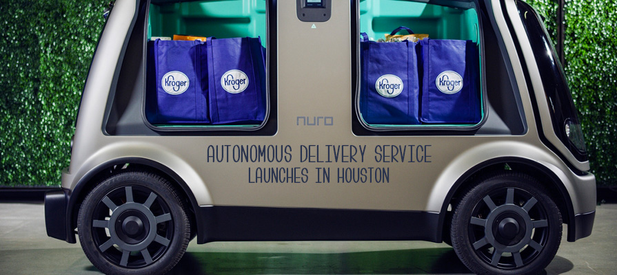 Kroger Partners with Nuro to Launch Autonomous Delivery Service in Texas
