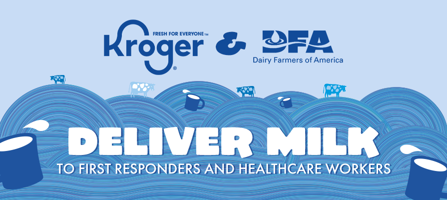 Kroger Partners With Dairy Farmers of America