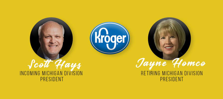 Kroger Announces Retirement of Jayne Homco, Promotes Scott Hays to Michigan Division President