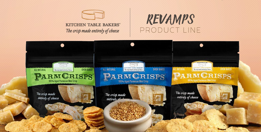 kitchen table bakers revamps mindful munching parm crisp product line - Crisp Kitchen