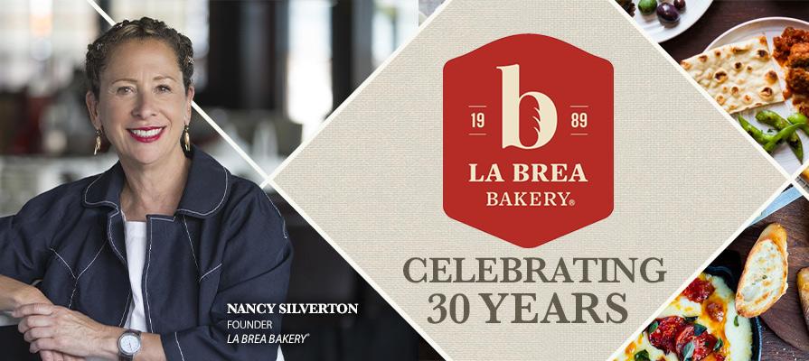 La Brea Bakery Celebrates 30th Anniversary with Founder Nancy Silverton