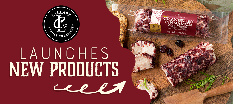 LaClare Family Creamery Goat Cheeses Expands Offerings Heading Into the Holidays