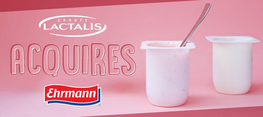 Lactalis Group Acquires U.S. Yogurt Division of Ehrmann AG