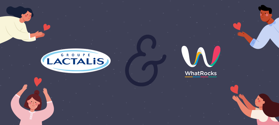 Lactalis Canada Teams Up with WhatRocks™ to Empower Canadians to Donate to Charity; Mark Taylor and Njara Zafimehy Comment