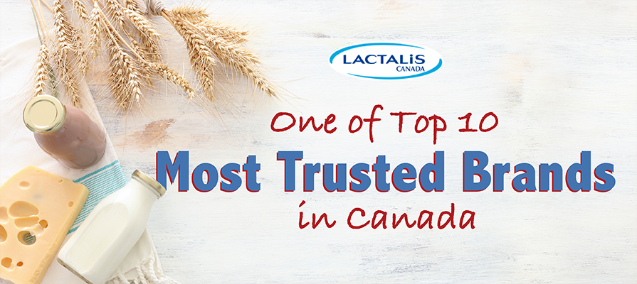 Lactalis Canada Recognized as One of Top 10 Most Trusted Brands in Canada