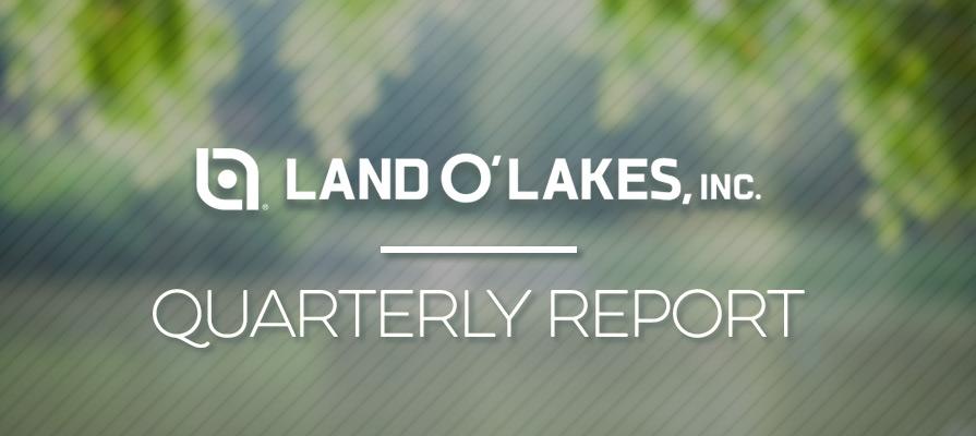 Land O'Lakes, Inc. Posts Q3 Results