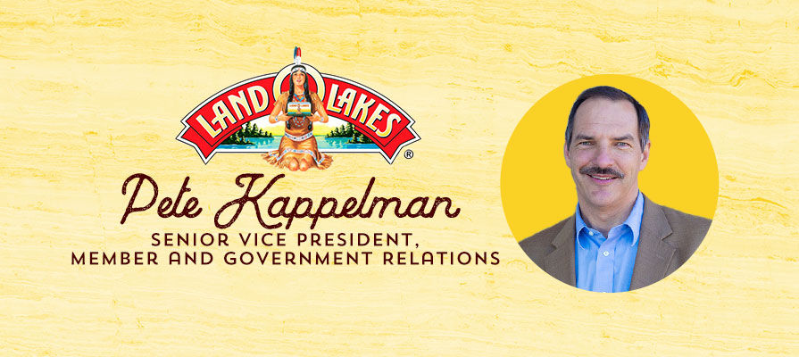 Land O'Lakes Names Pete Kappelman Senior Vice President, Member and Government Relations