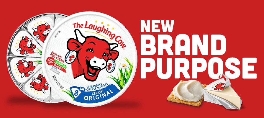 The Laughing Cow® Reformulates Iconic Cheese Wedge