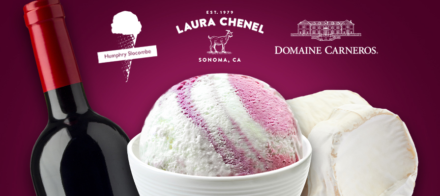 Laura Chenel Collaborates on Out-Of-This-World Ice Cream