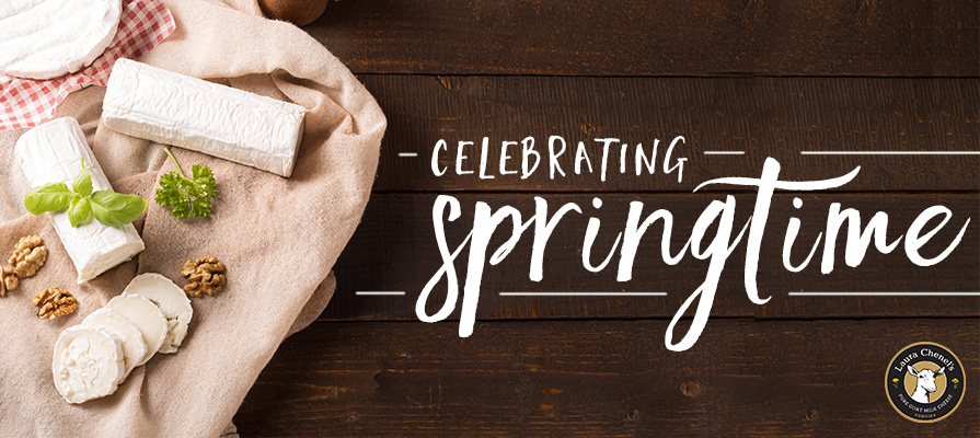 Laura Chenel's Celebrates Regional Milk Producers & Springtime